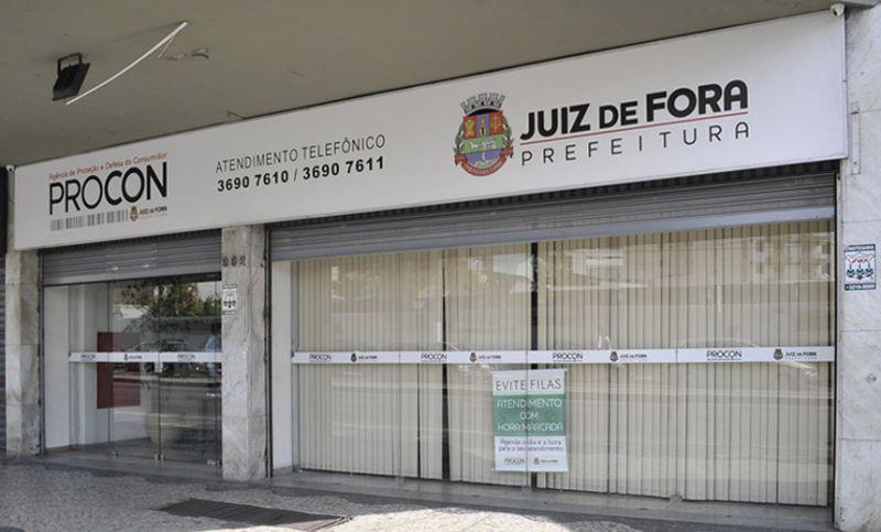 Procon/JF passará por desinfecção e suspende atendimentos na tarde da sexta, 15