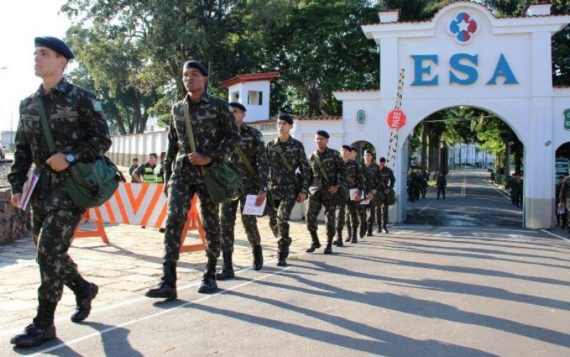 Inscrições abertas para o Concurso da Escola de Sargentos das Armas 2018