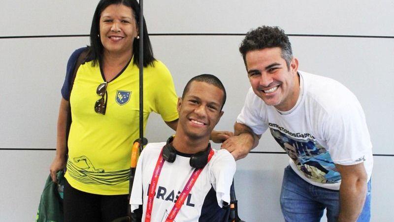 Aluno mineiro conquista cinco medalhas nos Jogos Parapan-Americanos