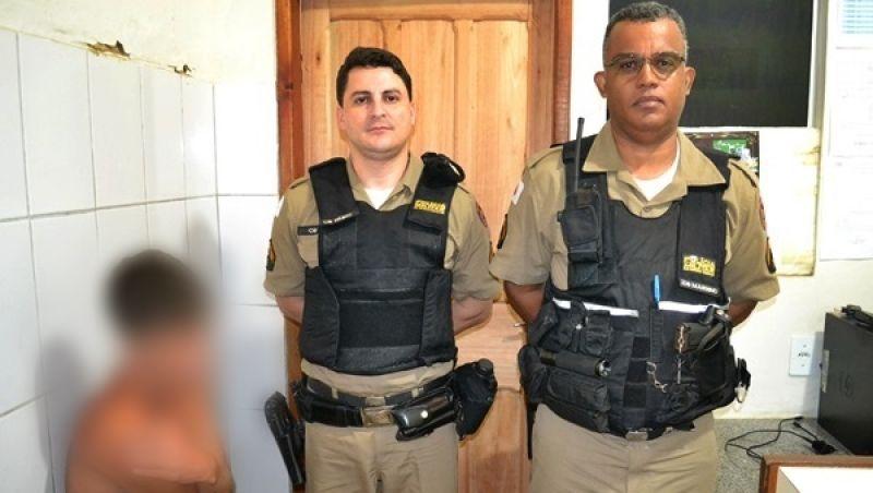 Carangola: denunciado pela mãe, jovem é detido e confessa ter estuprado irmão de 6 anos