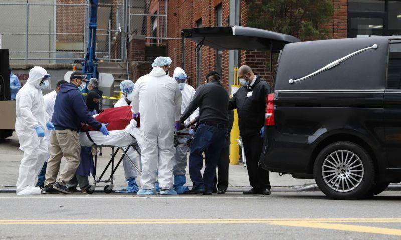 Estados Unidos têm mais de 1.200 mortes em 24 horas