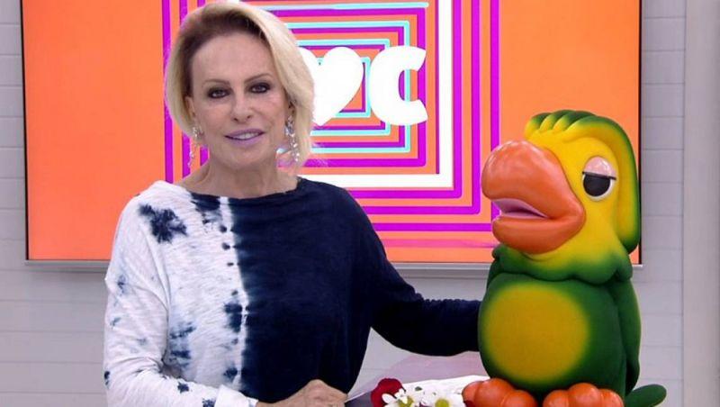 Ana Maria Braga volta ao 'Mais Você' e comemora redução de tumor