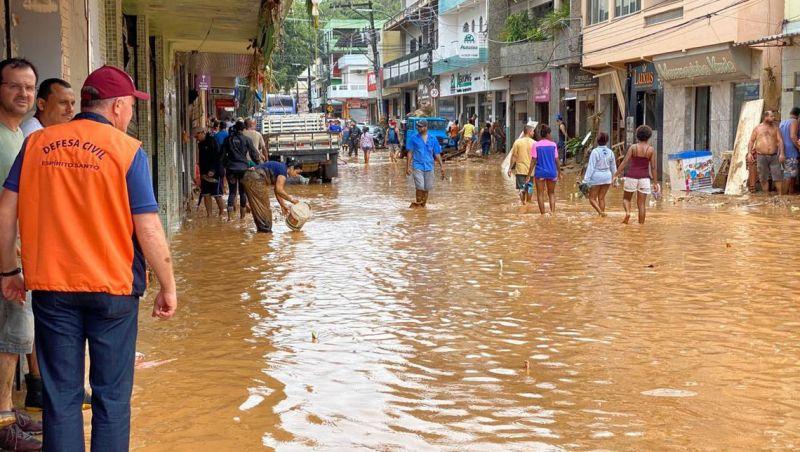 MDR reconhece estado de calamidade pública em cidades do Espírito Santo