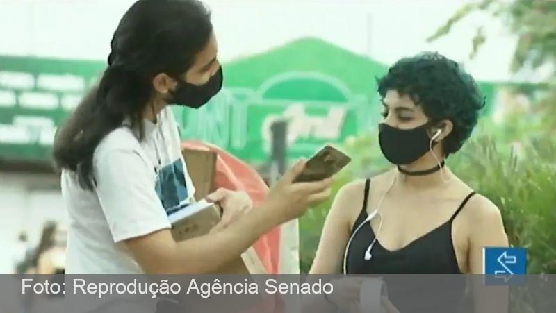 Lei que exige o uso de máscara segue em vigor apesar de boatos
