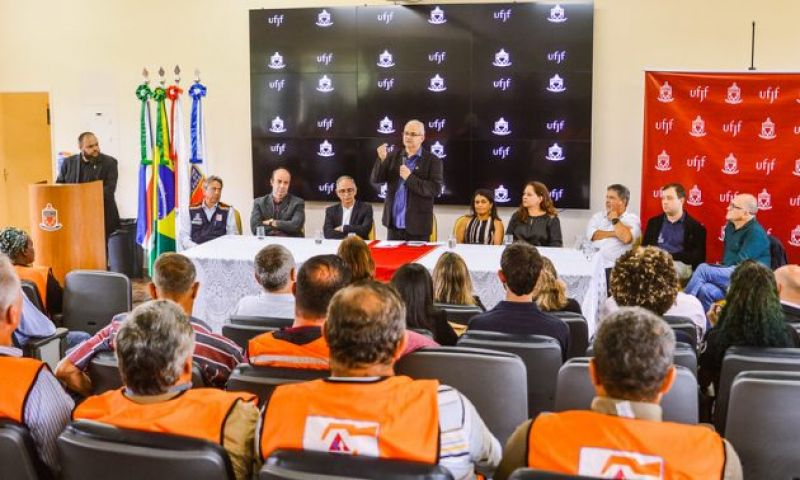UFJF e Prefeitura assinam parceria para mapear áreas de risco
