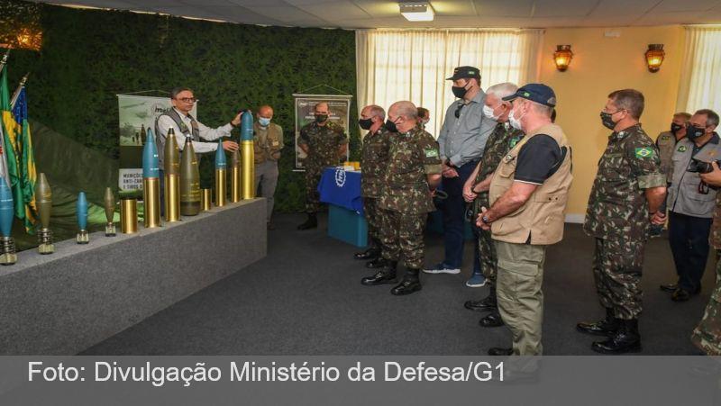 Ministro da Defesa visita fábrica da Imbel em Juiz de Fora