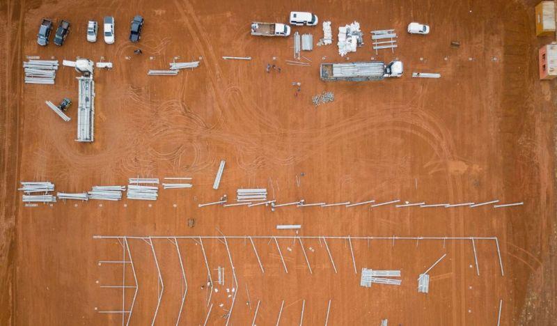 Hospital de campanha em Águas Lindas (GO) será construído em 15 dias