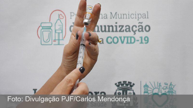 PJF divulga calendário de vacinação para idosos de 60 a 64 anos
