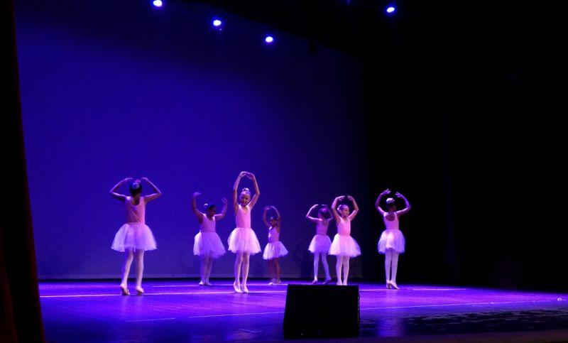 19 ° Femde: alunos de escolas municipais dançam no palco do Cine-Theatro Central
