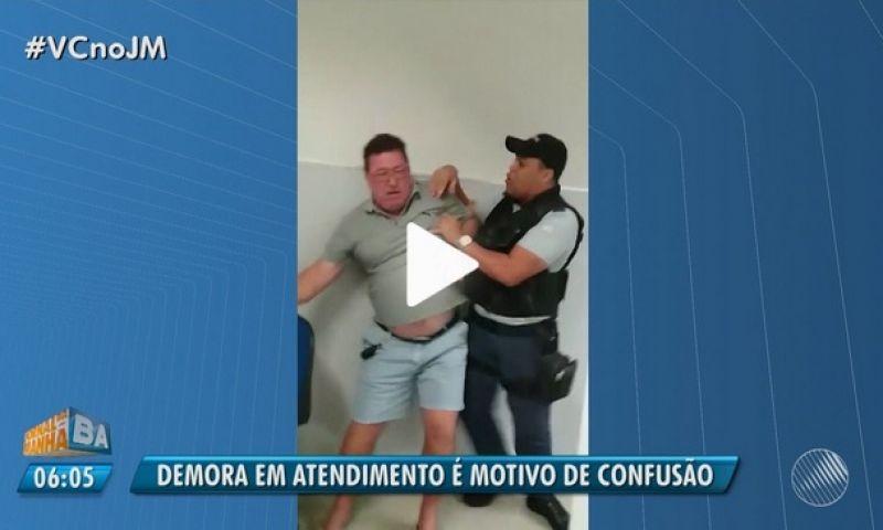 Cliente é agredido por segurança em banco após ligar para Procon