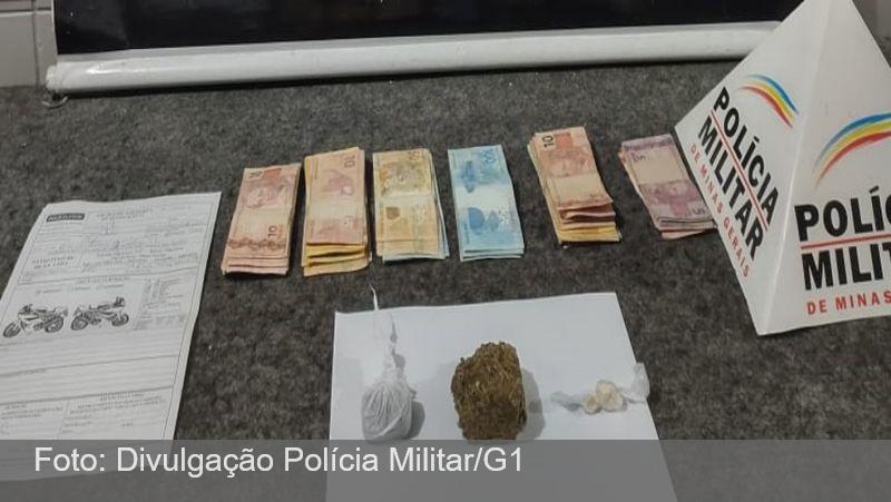 PM apreende drogas, dinheiro e armas de fogo durante ação de combate ao crime em Juiz de Fora
