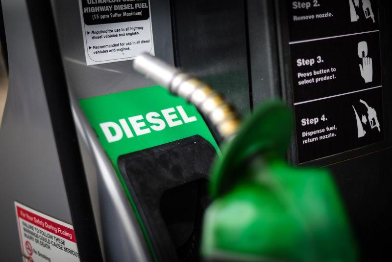 Petrobras reduz preço do diesel nas refinarias em 10%