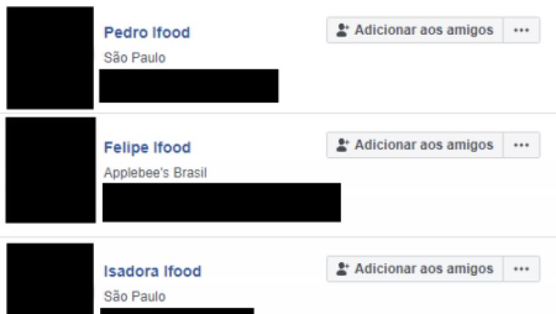 Pegadinha deixa milhares de usuários do Facebook com o sobrenome Ifood