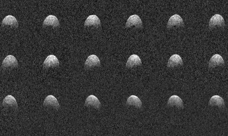 Afetado por furacão, observatório da Nasa é reativado e faz imagens de asteroide que passou perto da Terra