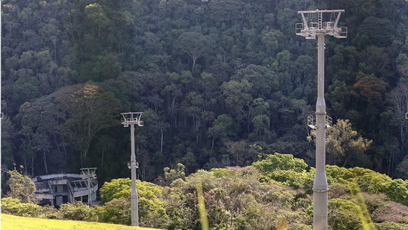 Apesar de R$ 16 milhões gastos, obras de teleférico e trenó de montanha da UFJF seguem paradas