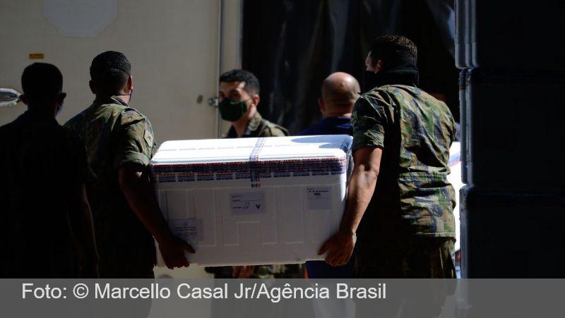 Após SP, Goiás, Piauí e Santa Catarina iniciam vacinação