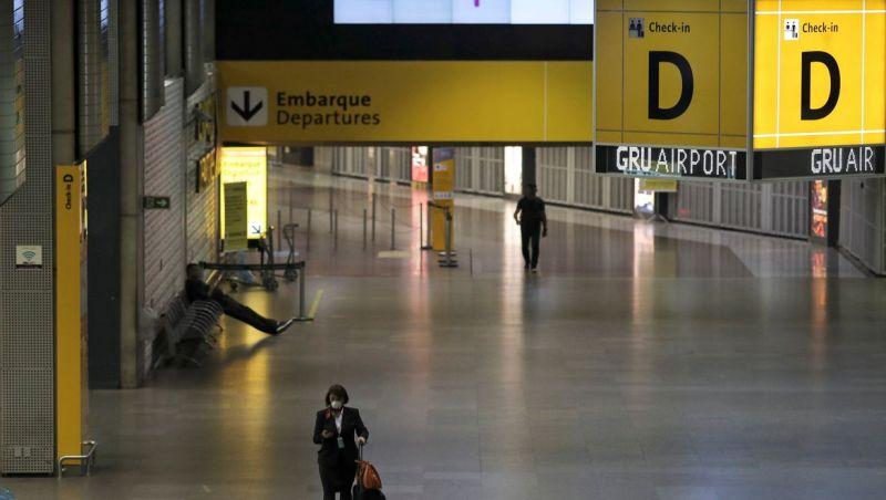 Governo prorroga restrição de entrada de estrangeiros no Brasil