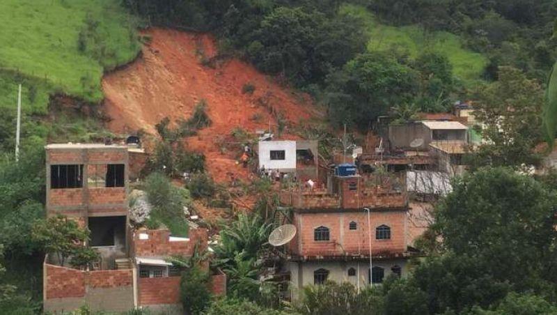 Mortes no período chuvoso saltam para 41 em Minas, diz Defesa Civil