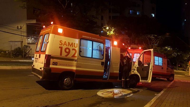 Homem é resgatado em estado grave após queda de viaduto em Juiz de Fora