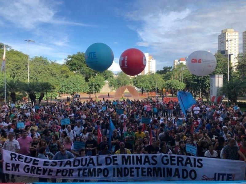 Ano letivo prejudicado: professores da rede estadual de MG em greve por tempo indeterminado