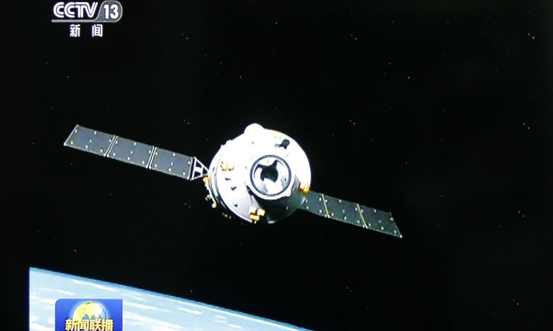 Nave chinesa irá entrar na atmosfera; há chance de queda de fragmentos em solo