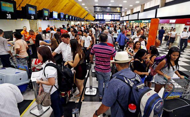Aeroportos da Infraero devem receber 21,9 milhões de passageiros na temporada