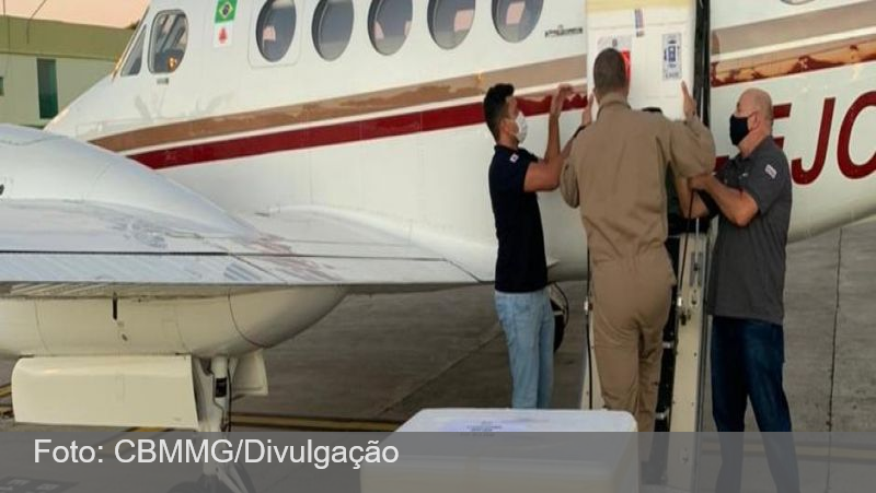 Minas Gerais distribui vacina contra a covid em tempo recorde