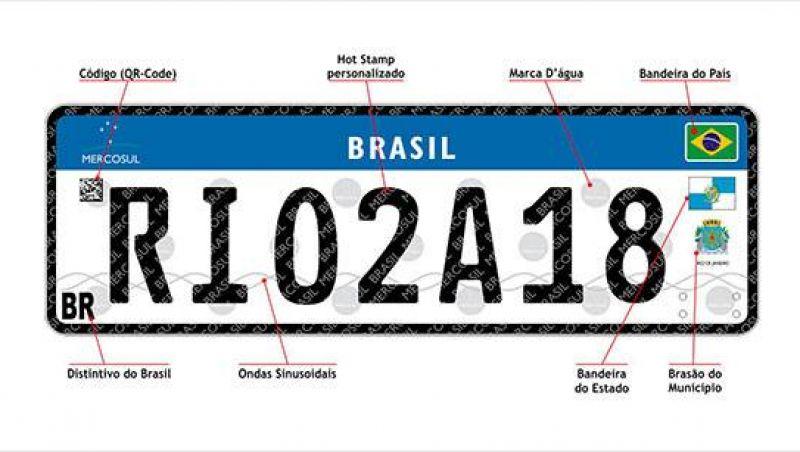 Denatran dá mais prazo para 5 estados implantarem placa do Mercosul