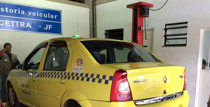 Settra/JF prorroga validade de permissão de táxis e veículos fretados