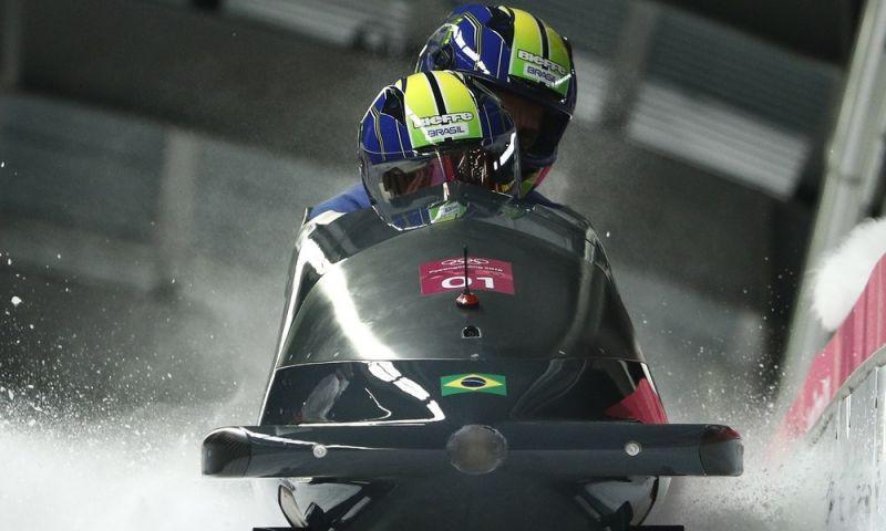 Brasil não melhora na 3ª descida e fecha o bobsled 2-man em 27º entre 30 trenós