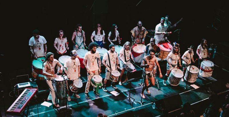 Muvuka estreia no carnaval de JF ao ritmo do samba afro
