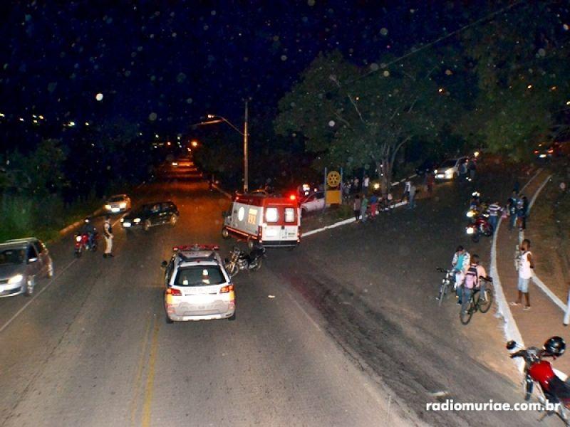 BR-356: acidente com 2 motos deixa 3 feridos próximo a Muriaé