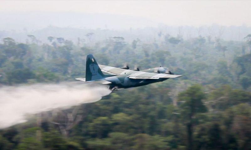 Mourão manifesta preocupação com incêndios na Amazônia