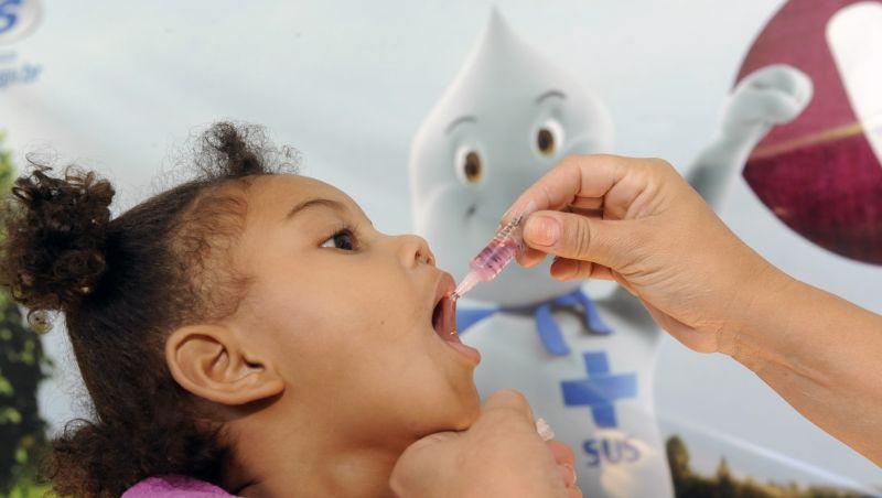 Campanha de vacinação contra sarampo e pólio ainda tem baixa cobertura