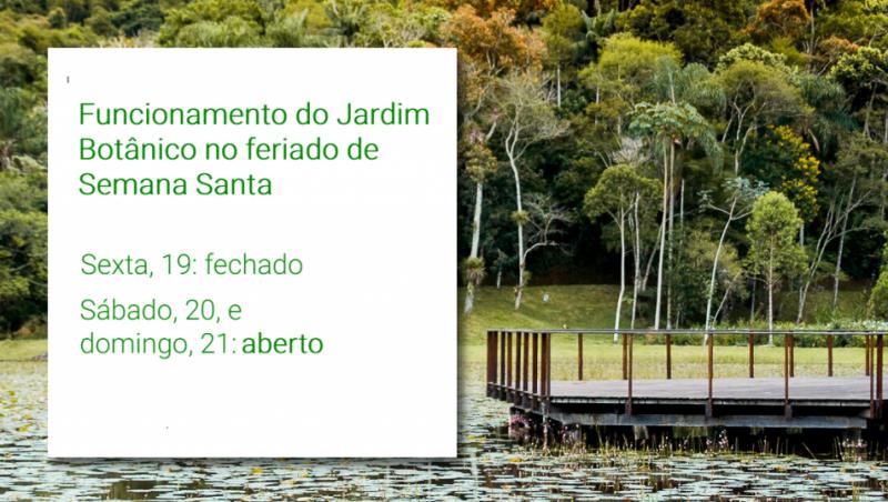 Feriadão: Jardim Botânico da UFJF abre nestes sábado, 20, e domingo, 21