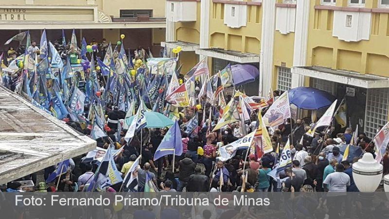 Campanha nas ruas se concentra em áreas centrais de Juiz de Fora