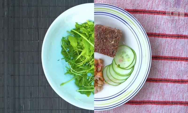Veganos x carnívoros: 'confronto' de cardápios mostra vantagens de cada tipo de alimentação
