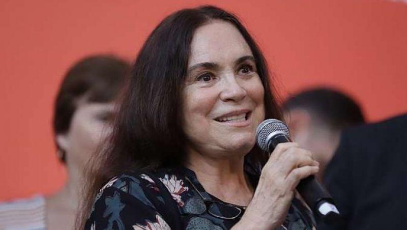 Atriz Regina Duarte é convidada para assumir Secretaria da Cultura