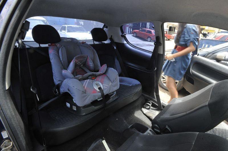 Detran explica transporte de bebês em veículos de aluguel