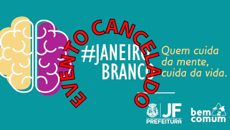 """Evento no Museu sobre """"Janeiro Branco"""" é cancelado por causa da chuva"""
