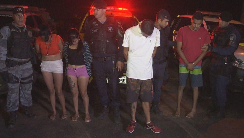Integrantes de facção são presos com armamento pesado em Brasília