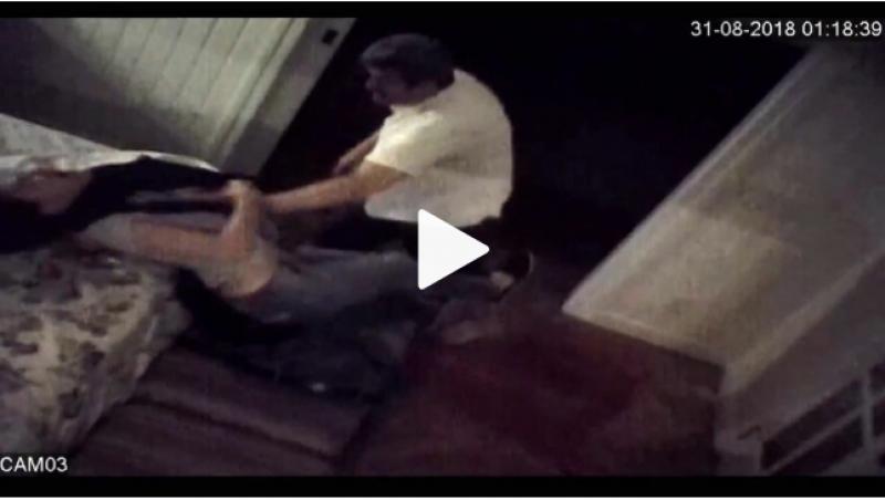 Atriz instalou câmeras escondidas para provar perigo de ser morta pelo marido