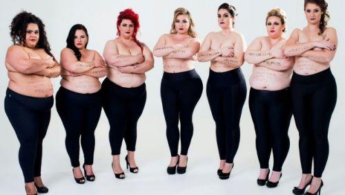 Sem roupas, miss plus-size reclama de preconceito por ser 'muito magra'