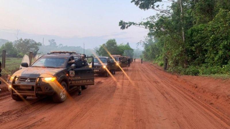 Segunda etapa da Operação Trypes envolve 160 agentes em Aripuanã