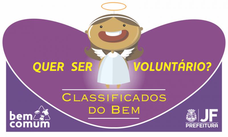 """""""Classificados do Bem"""" divulga 20 vagas de trabalho voluntário em setembro"""