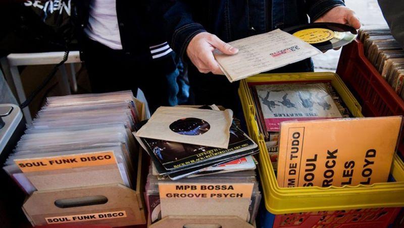 Sexta edição da Feira de Discos reúne expositores em Juiz de Fora