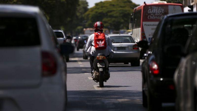 Número de motos é maior que o de carros em 45% das cidades