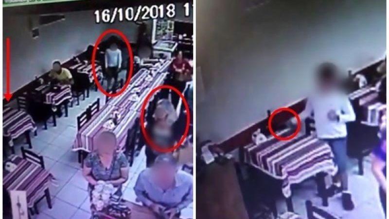 Polícia Civil de Muriaé localiza mulher que usou criança para furtar celular em restaurante e recupera aparelho