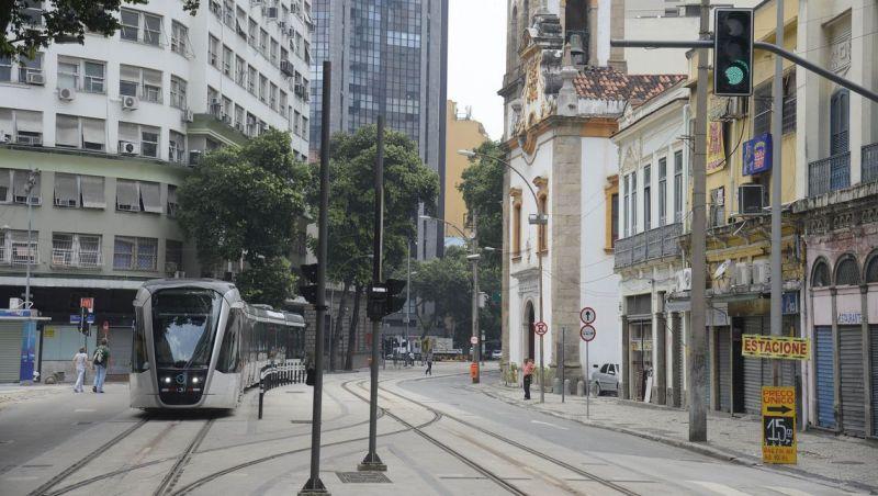 Iniciada operação em novo trecho do VLT no centro do Rio de Janeiro