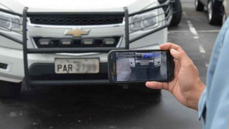 Aplicativo policial ajudará na identificação de carros roubados